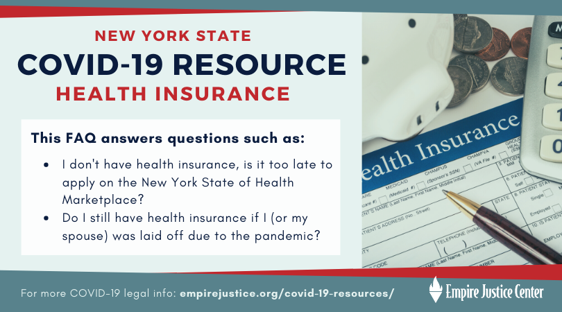Covid 19 Faq Nys Health Insurance Empire Justice Center