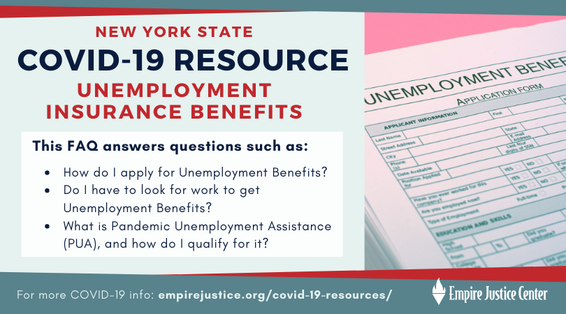 Covid 19 Faq Nys Unemployment Insurance Benefits Empire Justice
